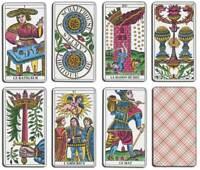 Tarot de Marseille - Claude Burdel - Jeu de 78 cartes divinatoires