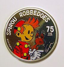Belgien 5 € 2013 - 75 Jahre Spirou - Robbedoes - farbig PP (Blister)