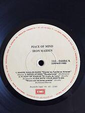 Iron Maiden Piece (piace) Of Mind Lp Rare Scarce Venezuela Gatefold mistake