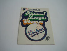1979 FLEER BASEBALL NATIONAL LEAGUE CHAMPS LOS ANGELES DODGERS LOGO STICKER