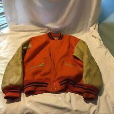 Vintage Kendal Varsity Jacket, Size 40, No Logos