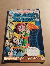 Black Magic 8 . Simons / Kirby . Reprints  - DC  1975 -  VF - minus