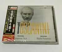 Arturo Toscanini SEALED BRAND NEW CD Brahms Sym. No.4/Haydn Variations Japan Obi