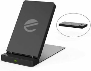 UK 5/10W Fast Qi Wireless Charger Foldable Charging Dock Stand iPhone 11 8 XS