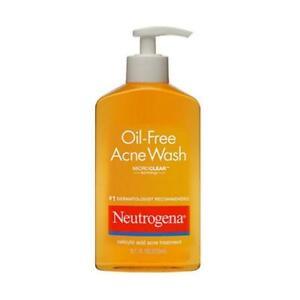 3x Neutrogena Oil Free Acne Wash with Microclear Technology-6oz. each