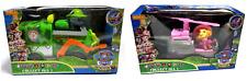 PAW PATROL HUND PATROL JUNGLE Spielfiguren mit Auto ROCKY & SKYE  Licht und Ton