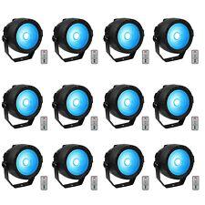 12x RGB DMX512 COB LED Par Licht Bühnenbeleuchtung DJ Party Disco Bühnen Licht