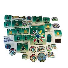 New Set Girl Scout Lot Patches Sew On Iron On Embroidered