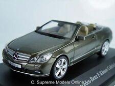 MERCEDES E KLASSE CABRIOLET MODEL CAR 1/43RD SIZE GREY VERSION BOXED R0154X{:}