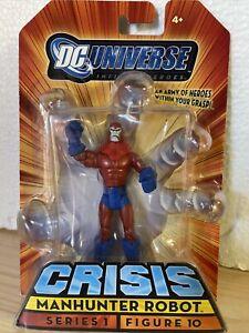 DC Universe Heroes Crisis MANHUNTER ROBOT Series 1 Figure 9 FREE SHIPPING
