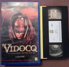 VHS FILM Ita Horror VIDOCQ Gerard Depardieu Medusa 1091801 ex nolo no dvd(VH45)