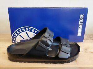 Birkenstock Arizona Eva Black Narrow Sandals Made in Germany for Women