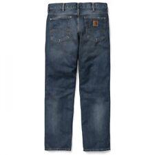 Jeans Pantaloni Carhartt Marlow Ansimare (blu Coast Lavato) W30 L34 Valore