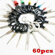 60pcs Wiring Connector Extractor Car Terminal Pin Removal Puller Release Tool