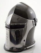 medieval Barbute armour helmet costume f74 medieval replica renaissance larp sca