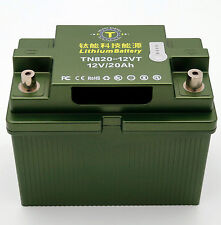 12V1000CCA Cold Weather Lithium Titanate LTO Battery for Race or Passenger Car
