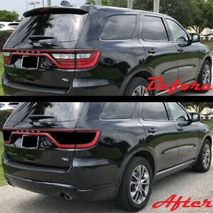 2014-2020 Dodge Durango Tail Light Blackout Kit Precut Smoke Vinyl SRT