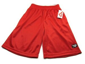Pony Boys' Big Active Short Racing Red Size Large (14-16) New