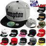 COMPTON Baseball Cap Embroidered Snapback Hat Adjustable Flat Hip Hop Men Hats