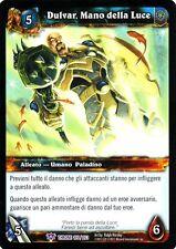 WOW Dulvar Mano della Luce THRONE 105/263 ITA NEAR MINT WORLD OF WARCRAFT