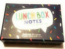 Lunch Box Messages- 24 Notes To Let Your Cutie Know You Love Them by Eccolo
