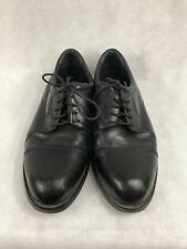 HUNTER'S BAY Men's Black Leather Work Lace Up Shoes Oxfords 10 W