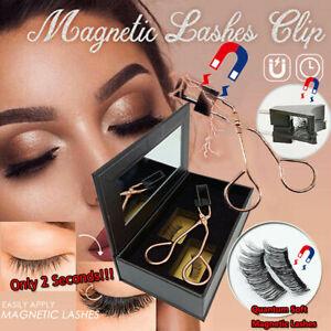 Eyelashes No Glue Need Eyelashes Magnetic Lashes Clip Magnetic Eyelash Curler