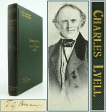 CHARLES LYELL AND MODERN GEOLOGY*LIFE & LETTERS/HISTORY OF'PRINCIPLES'**SIGNED**