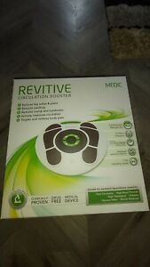 REVITIVE Medic Circulation Booster & Blanket BNIB (missing remote)