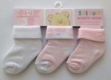 Chaussettes rose pour fille de 0 à 24 mois, 9 - 12 mois