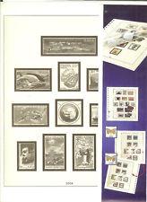 FEUILLES LINDNER TAAF ANNEE 2002  N°. 57 A 60
