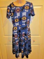 WOMENS DRESS LARGE LuLaRoe Amelia Large  SOUTHWEST  PRINT EASY WEAR DRESS NWT
