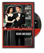 HIGHER AND HIGHER (DVD) 1943 Frank Sinatra/Michele Morgan/Jack Haley NEW/SEALED