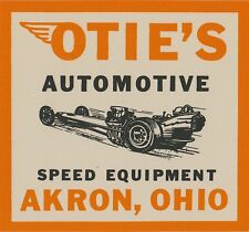1964 Otie's Automotive large decal