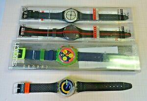 Lot mit älteren defekten Swatch Armbanduhren 2