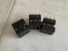 Lot of 3 Genuine GE CR120HX1, Relay Accessory 8-Pin Socket Front Connected, NOS