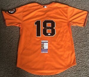 Matt Cain Autographed Signed San Francisco Giants Jersey w/ JSA COA