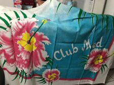 PARIS 1980 Jacques Rollet Pareo  Made For Club MED Multi Colors New