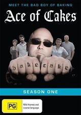 Ace Of Cakes : Season 1 (DVD, 2012) All Regions Reality TV DVD Rated PG in VGC