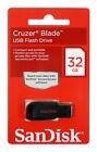 SanDisk 8GB 16GB 32GB 64GB 128GB Cruzer BLADE USB 2.0 Flash Pendrive Memoria ES