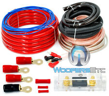 0 GAUGE 6000 WATT CAR PRO COMPLETE AMP WIRE AMPLIFIER INSTALL WIRING KIT O GA