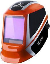 Deko Solar Mig Mma Electric Auto Darkening Mask Helmet Welder Cap Welding