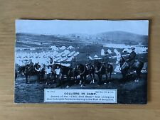 Postcard Clay Cross Co Advertising Coal Mining Circa 1910 Colliers in Camp 18