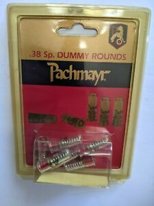 New Pachmayr Five .38 Special Snap Caps