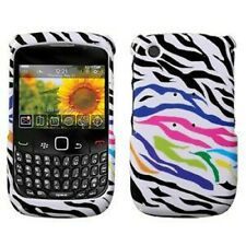 Rainbow Zebra Hard Case Cover for BlackBerry Curve 8530