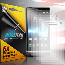 6x Clear Front Screen Protector Cover Film Guard for Sony Experia S T26i