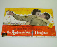 THE AMBASSADOR'S DAUGHTER 1956 Movie Film STUDIO ADVERTISING PRESSBOOK Myrna Loy