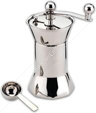 Grunwerg CG-357 Stainless Steel Manual Coffee Grinder - Polished