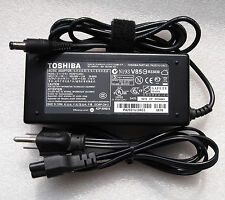 15V 6A Genuine OEM AC Adapter charger Cord for Toshiba SATELLITE M100 M105