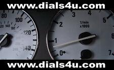 BMW 5 SERIES E39 (1995-2003) 140mph / 160mph (Petrol or Diesel) - WHITE DIAL KIT